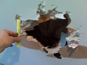 Didn't you hear about the new reality show? Toddler Renovation.