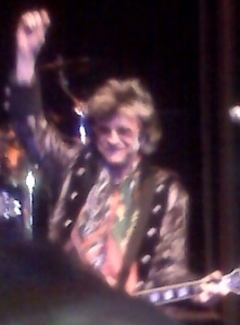 Lead singer from Survivor, Rock of Ages after party